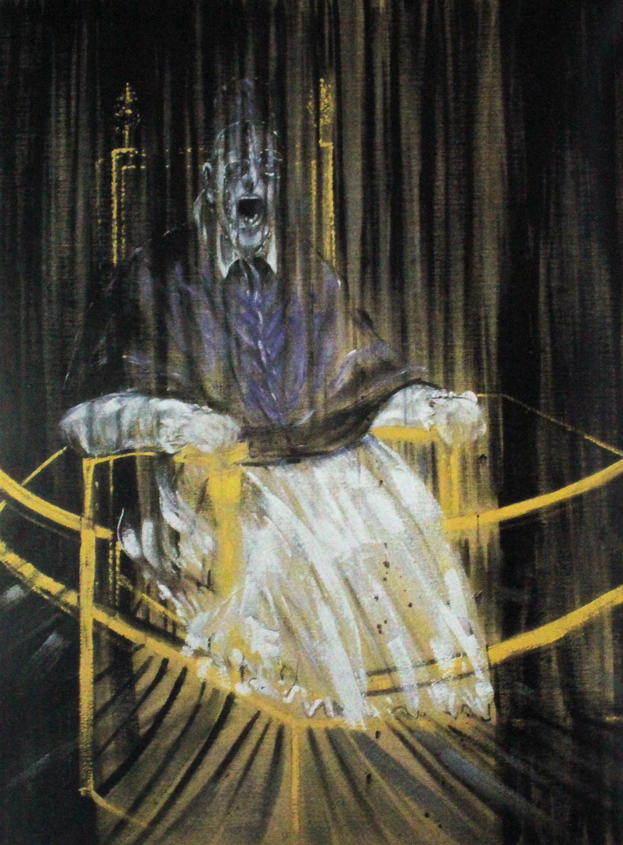 Francis Bacon. Estudio del retrato de Papa Inocencio X de ... Francis Bacon Artist Screaming Pope